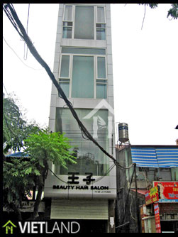 Tall house for rent as office in Dong Da district, Ha Noi