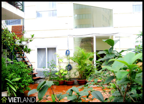 French styled flat with serviced in downtown of Ha Noi