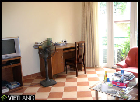 Bright and peaceful serviced apartment for rent in downtown of Ha Noi