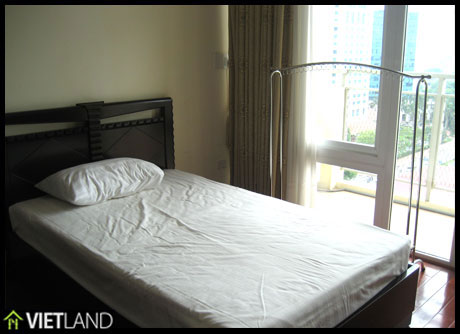 Serviced apartment for rent in DMC Tower, Kim Ma Str, facing to the Ha Noi Zoo