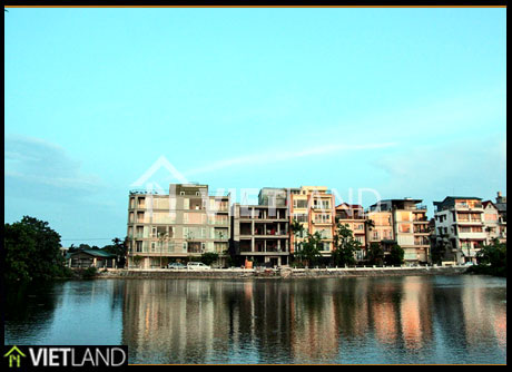 Service d apartment with lake view for rent in Dang Thai Mai street, Tay Ho WestLake district, Ha Noi