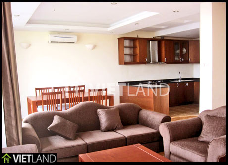 Lakeviewed apartment for rent in Westlake area, Dang Thai Mai street, Tay Ho district, Ha Noi