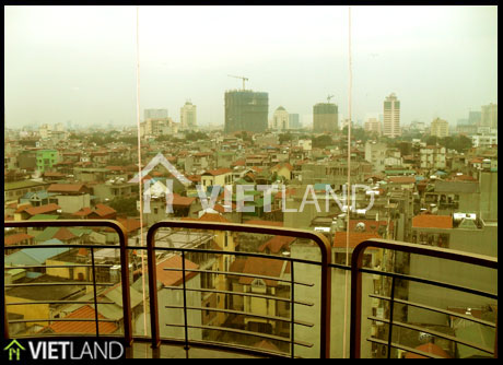 Large and big serviced apartment for rent in Doi Can street, Ba Dinh district, Ha Noi