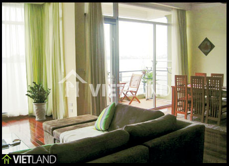 Ha Noi WestLake serviced apartment with 2 bedroom for rent in Yen Phu street, Tay Ho district, Ha Noi