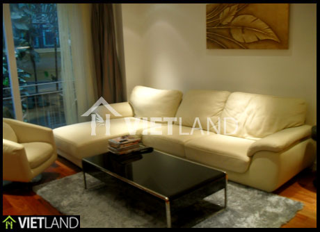 Reasonable serviced apartment for rent in To Ngoc Van street, Tay Ho WestLake, Ha Noi