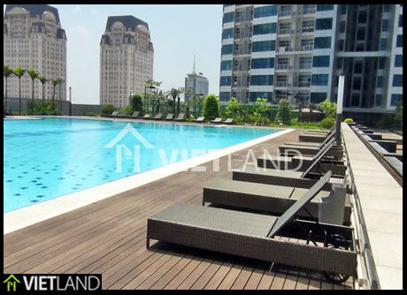 Apartment with full service for rent Calidas Building, Tu Liem district, Ha Noi