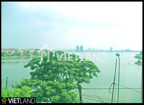 GrandLake viewing serviced flat for rent in Tay Ho district, Ha Noi