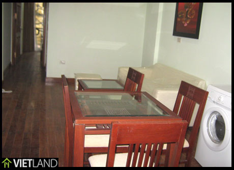 Spacious service apartment with 3 bedrooms for rent in Hai Ba District, Ha Noi
