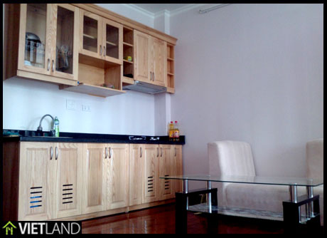 1 bedroom bright flat close to Ha Noi Horison Hotel for rent