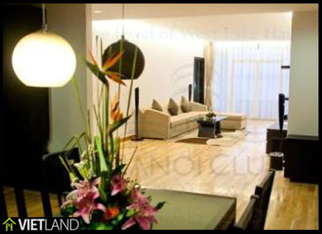 Luxurious serviced apartment for rent in downtown of Ha Noi
