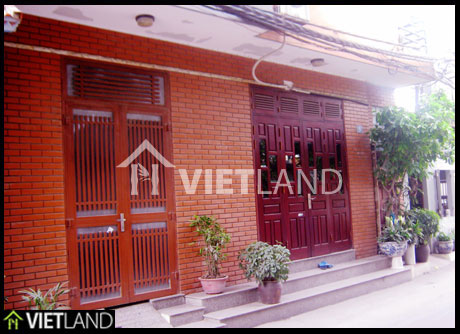 Sheraton backyard facing to: 2 bed flat for rent in Westlake area, Ha Noi