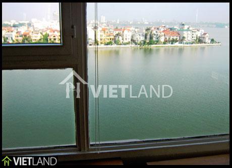 WestLake viewed flat for rent in Xuan Dieu Street, Tay Ho Dist, Ha Noi