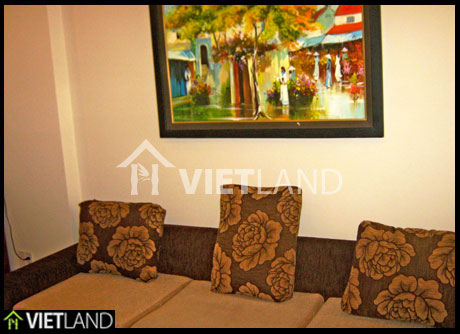 Serviced flat close to Japan Embassy for rent in Ba Dinh district