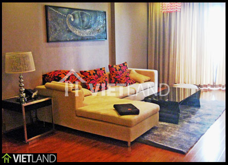 Lake front serviced apartment for rent in Tay Ho district, Ha Noi