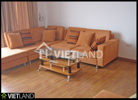 Truc Bach lake-viewing apartment with service for rent in Ba Dinh district, Ha Noi