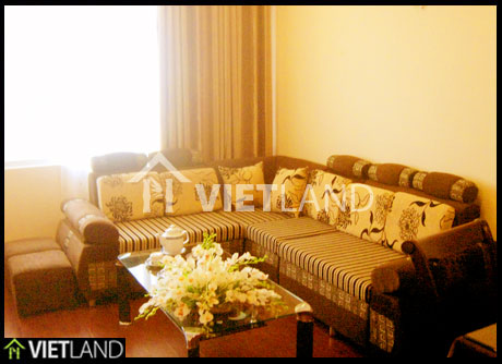 1-bed serviced apartment for rent in Au Co Street, Tay Ho district, Ha Noi