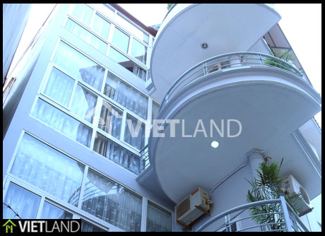 Serviced apartment with 2 beds for rent in Linh Lang Street, Ba Dinh district. Ha Noi