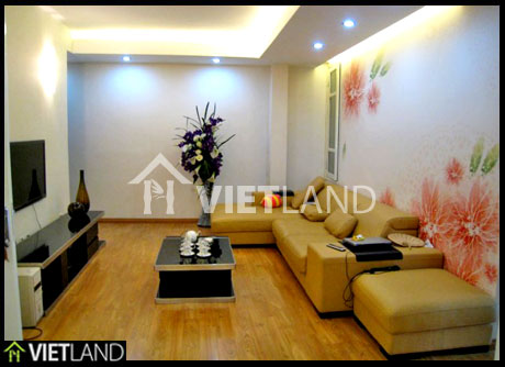 Spacious apartment with serviced  for rent in Ba Dinh district