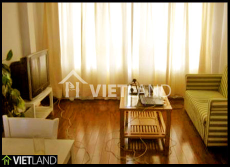 1-bed apartment with service for rent in Kim Ma street, Ba Dinh district, Ha Noi