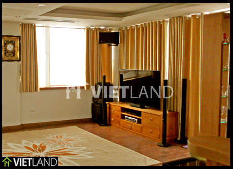 WestLake Tay Ho district: serviced apartment for rent in Dang Thai Mai street, Ha Noi