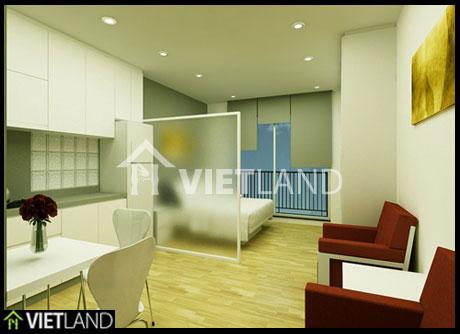 Studio for rent in To Ngoc Van street, Tay Ho district, Ha Noi