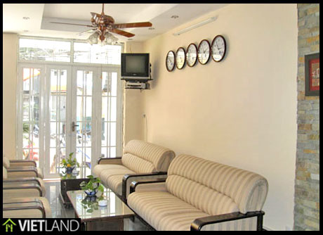 Luxurious serviced apartment with 2 bedrooms for rent in Rose Garden Tower facing to Ngoc Khanh Lake, Ha Noi