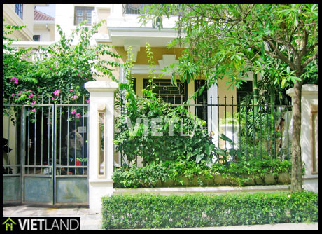 Villa for rent in Ciputra, Ha Noi