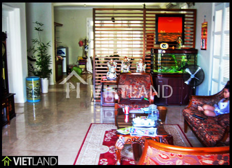 Newly furnished villa for rent with 5 bedrooms in Ciputra, Ha Noi