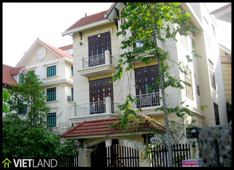 Villa for rent in Ha Noi, south of Ha Noi, Hoang Mai District