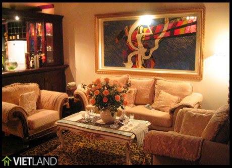 Non-furnished house for rent in T-range in Ciputra, Ha Noi