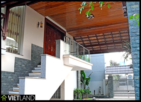 Villa with swimming pool for rent in 10 Dang Thai Mai, Tay Ho district, Ha Noi