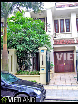 Villa with 4 bedrooms for rent in Ciputra, Cau Giay district, Ha Noi