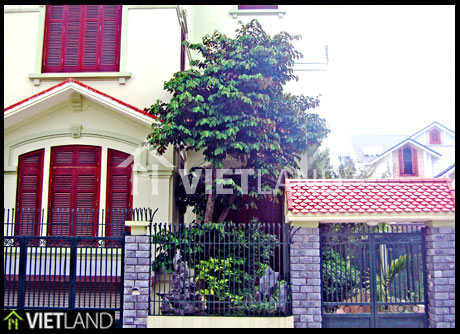 Villa for rent in Spring Blossom Garden, Tay Ho district, Ha Noi