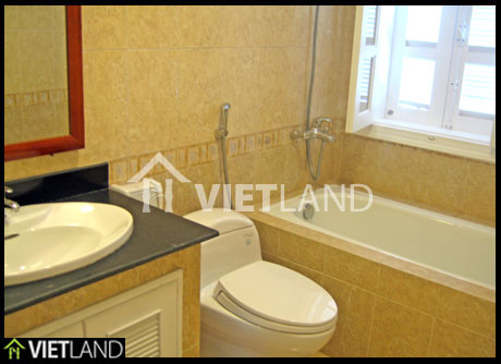 Non-furnished villa for rent in Ciputra, Tay Ho district, Ha Noi