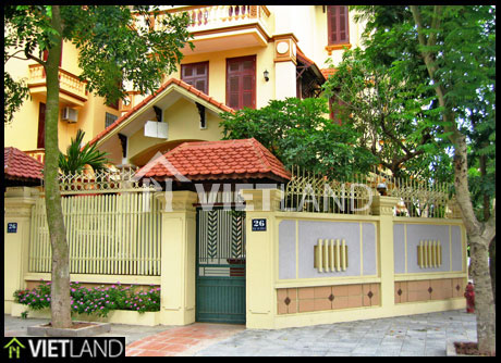 Villa for rent in My Dinh II, Tu Liem district, Ha Noi