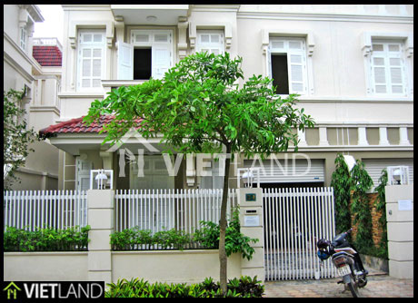 Villa in Ciputra Ha Noi for rent at reasonable price